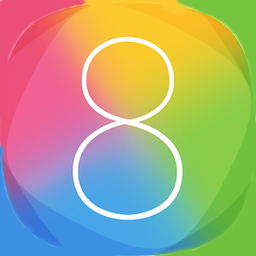 Р�РєРѕРЅРєР° iOS 8 Launcher HD Retina Theme на андроид телефон и планшет.
