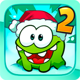 Иконка Cut the Rope 2 (Перережь веревку 2) на Телефон и Планшет (Mod Money/Все открыто)