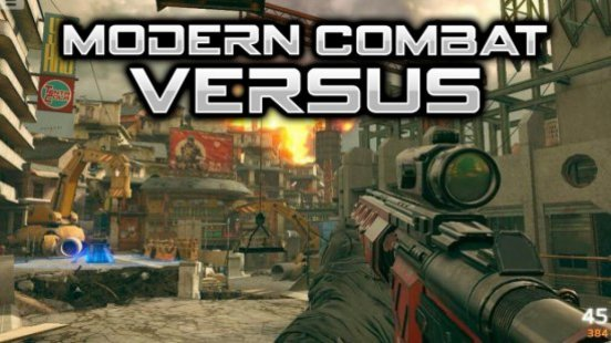 Скриншот Modern Combat Versus (Unreleased)