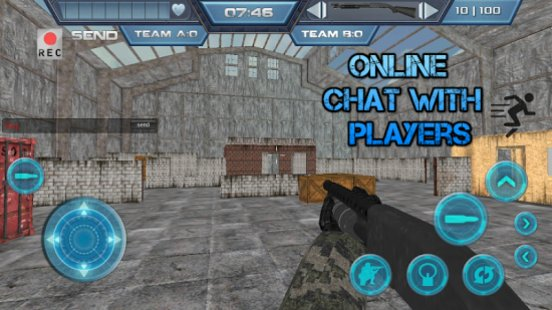 Скриншот Death Strike Multiplayer FPS