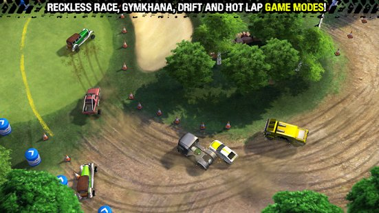Скриншот Reckless Racing 3