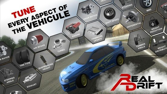 Скриншот Real Drift Car Racing Free