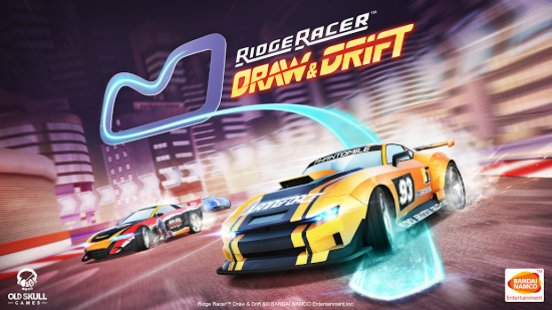 Скриншот Ridge Racer Draw And Drift