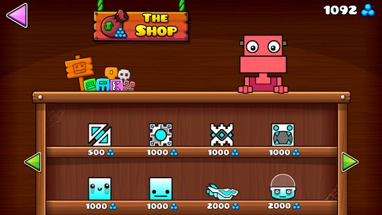 Скриншот Geometry Dash World