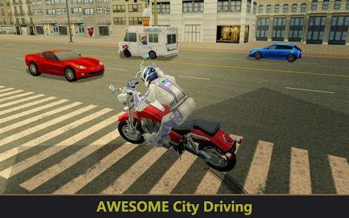 Скриншот Furious City Moto Bike Racer 2