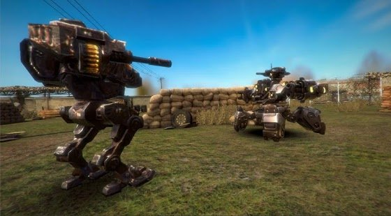 Скриншот Real Mech Robot - Steel War 3D