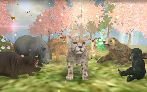 Скриншот Wild Animals Online