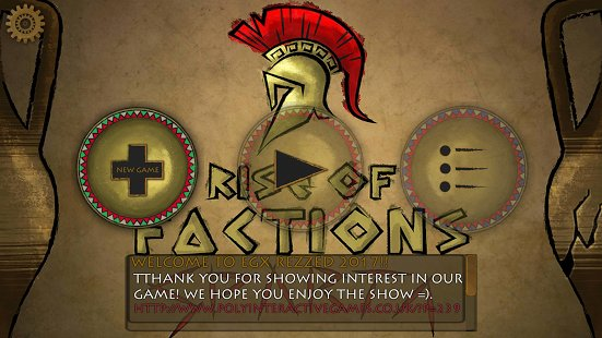 Скриншот Rise of Factions - SPARTA