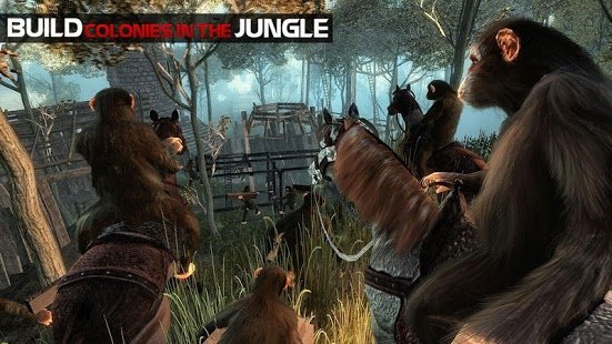 Скриншот Life of Apes Jungle Survival