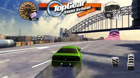 Скриншот Top Gear: Stunt School SSR Pro
