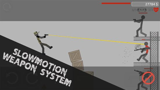 Скриншот Stickman Backflip Killer 4