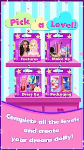 Скриншот Dream Dolly Designer - Doll Game