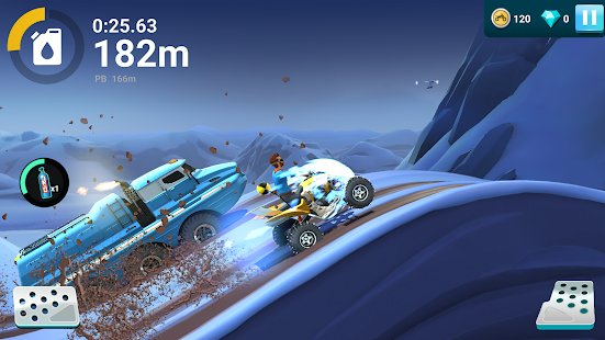 Скриншот MMX Hill Dash 2
