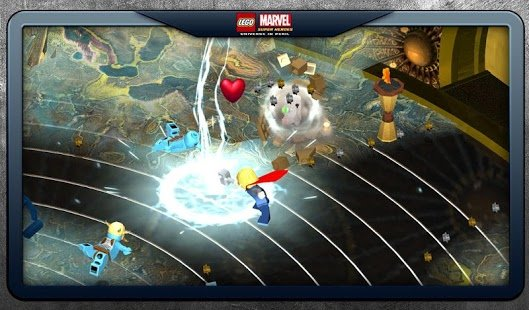 Скриншот LEGO Marvel Super Heroes