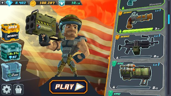Скриншот Major Mayhem 2 - Action Arcade Shooter