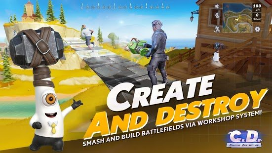 Скриншот Creative Destruction
