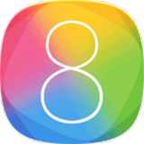 �конка iOS 8 Launcher HD Retina Theme