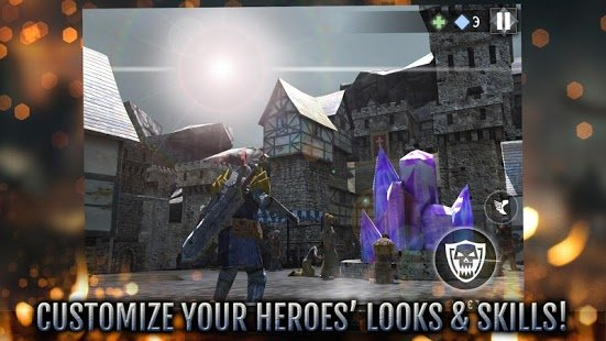 Скриншот Heroes and Castles 2