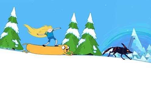 Скриншот Ski Safari: Adventure Time