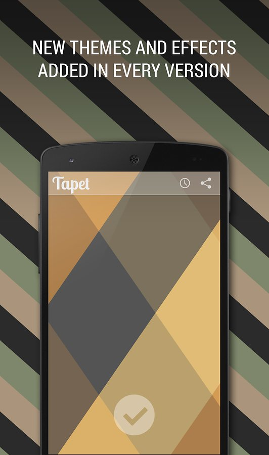 ������� ��������� �� ������� Tapet - Wallpapers Reinvented ��������� apk ��� ����������� � �������� ���.
