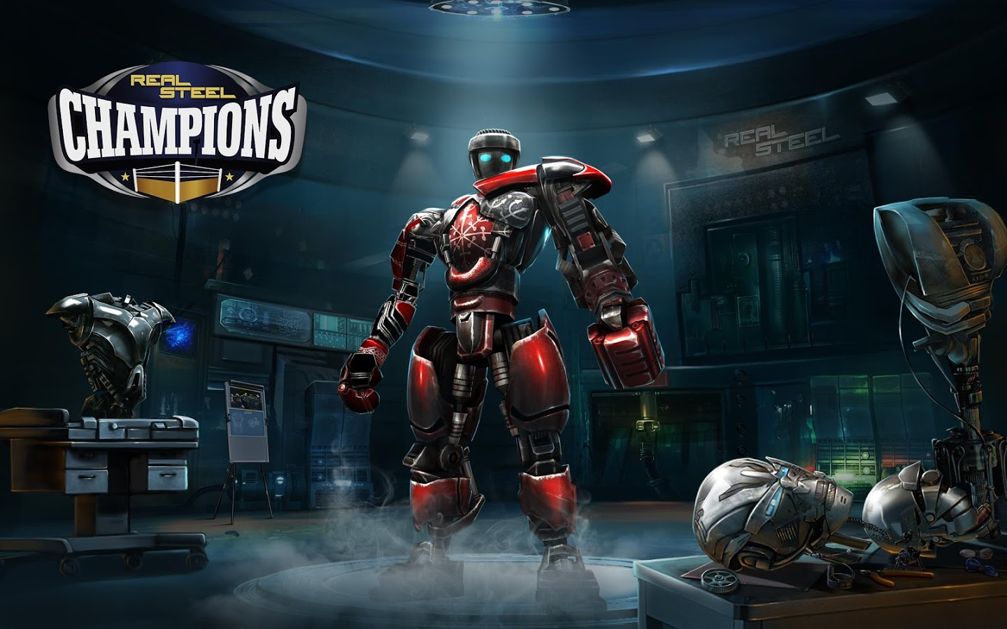 ������� ������� ���� Real Steel Champions �����/MOD �� ������� � ������� (�������� �����: ��������) ��������� apk ��� ����������� � �������� ���.