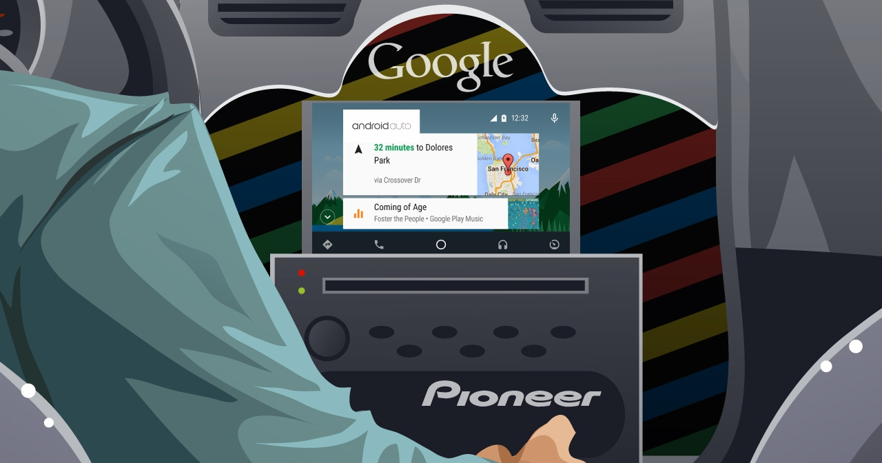 ������� ������� ����: Pioneer ������ ������� ��� ������������ Android ���� �� Google ������, ������ ���������