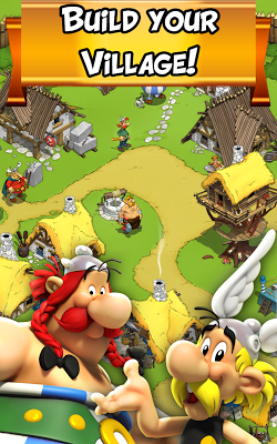 Cкриншоты из игры Asterix and Friends