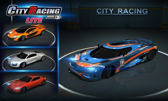������� City Racing Lite ��� android ��������� ������ ���������