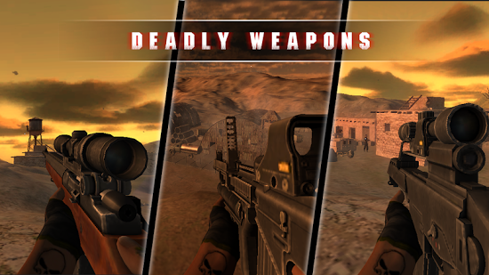 ������� Desert Sniper Invisible Killer ��� android ��������� ������ ���������