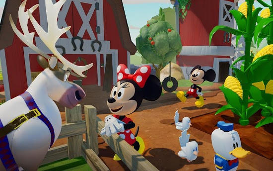 Cкриншоты из игры Disney Infinity: Toy Box 3.0