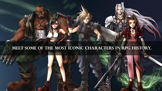������� FINAL FANTASY VII �� android ������� ���������