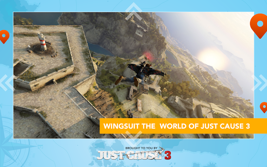 ������� Just Cause 3: WingSuit Tour �� android ������� ���������