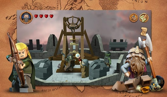 ������� LEGO The Lord of the Rings apk ��� ����������� � �������� ���