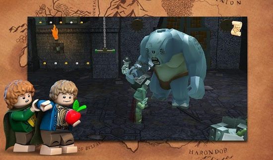 ������� LEGO The Lord of the Rings �� �������� ������� ��� ������� ���������