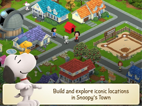 ������� Peanuts: Snoopy's Town Tale ��� android �������� ���������