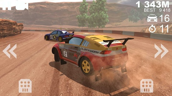 Cкриншоты из игры Rally Racer Unlocked