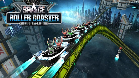 ������� Roller Coaster Simulator Space ��� android ��������� ������ ���������