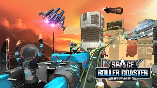 ������� Roller Coaster Simulator Space ��� android �������� ���������