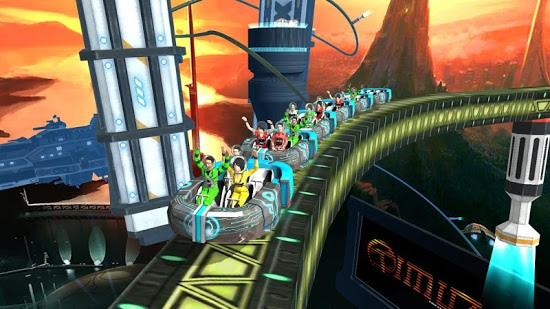 ������� Roller Coaster Simulator Space ��������� ��� �������