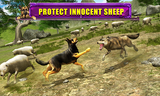 Скачать Shepherd Dog Simulator 3D без регистрации и смс