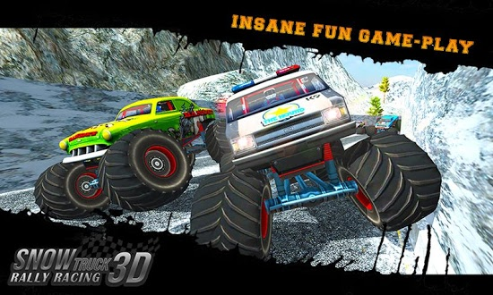 Cкриншоты из игры Snow Racing Monster Truck 17
