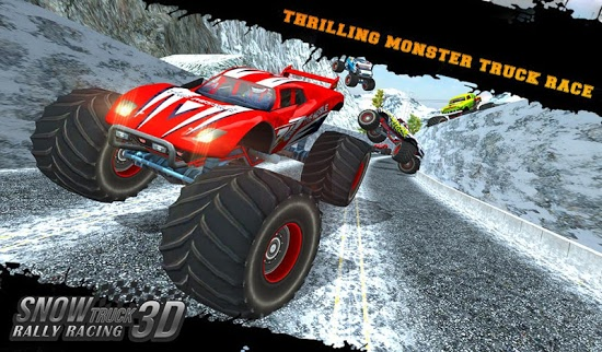 Скачать Snow Racing Monster Truck 17 без регистрации и смс