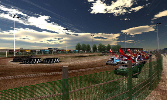 Cкриншоты из игры Stockcars Unleashed