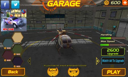 Скриншоты из игры Fire Helicopter Force 2016