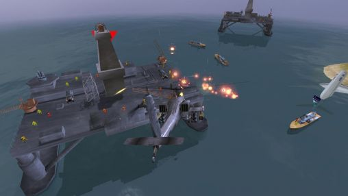 Кадры из игры Gunship Battle: Helicopter 3D на смартфон