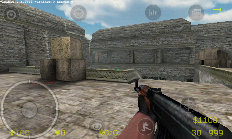 Кадры с android игры Counter-Strike