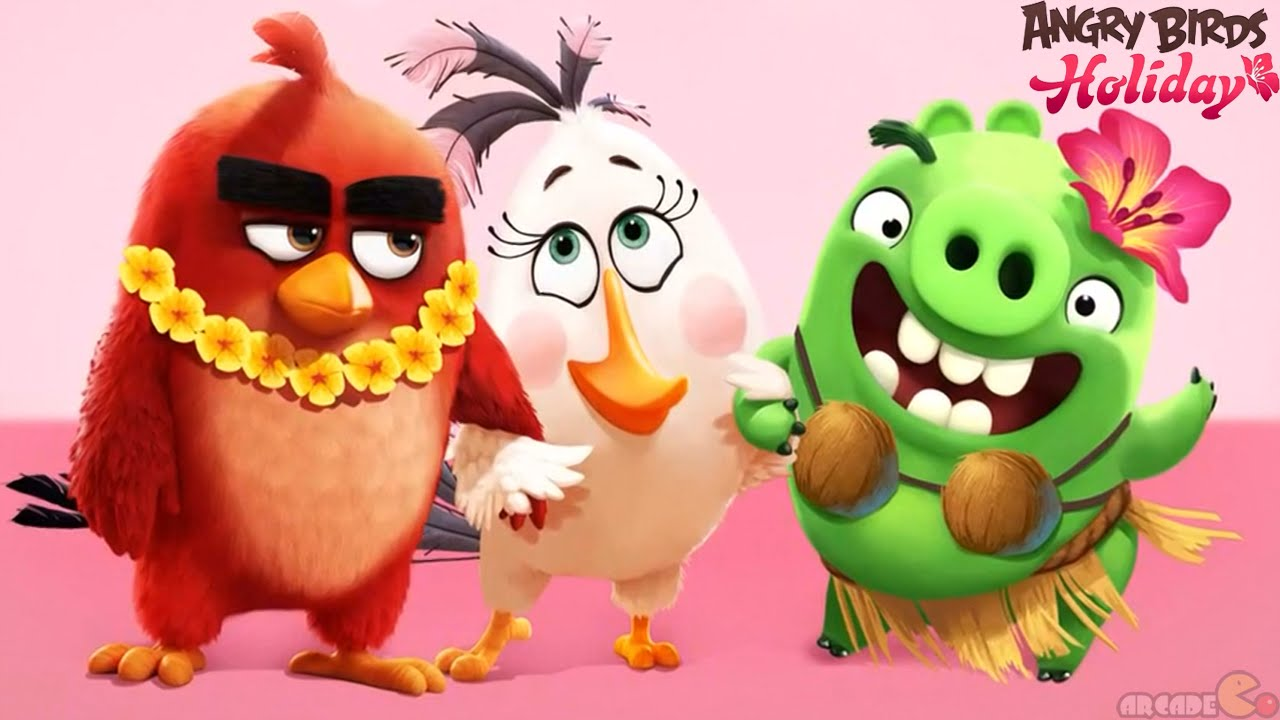 Скачать Angry Birds Holiday на телефон